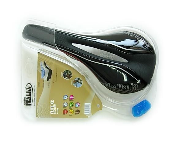 selle italia flite xc gel flow bicycle seat titan rail black