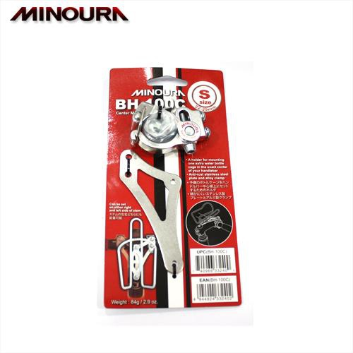 minoura bh 100c bicycle handlebar water bottle cage holder. Black Bedroom Furniture Sets. Home Design Ideas