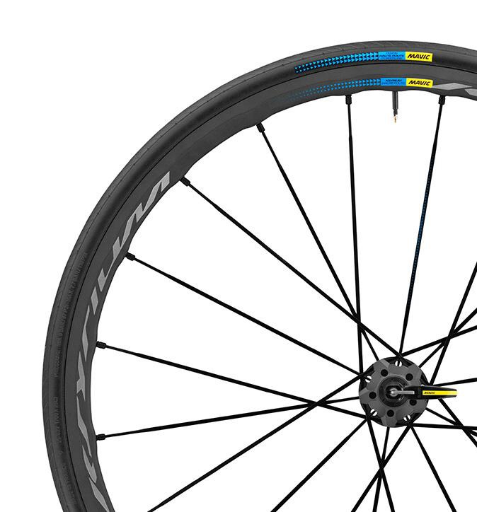 Mavic ksyrium pro exalith haute route wheel set 700x25c for Haute wheels