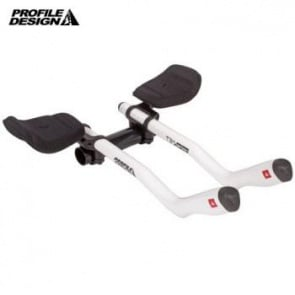 Profile Design Aerobar T3 Plus Carbon White