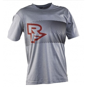 Race Face Trigger Short Sleeve Jersy Grey-Flame