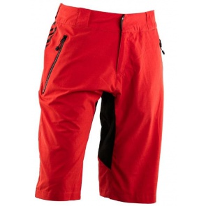 Race Face Trigger Shorts Red