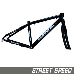 Quantec Frame Street Speed ​​Incl.Fork Black Matt