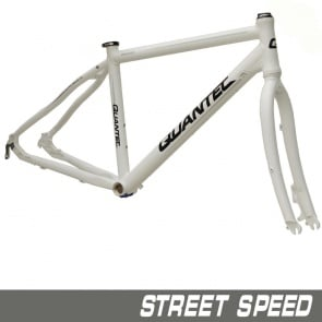 Quantec Frame Street Speed ​​Incl.Fork White
