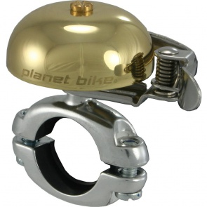 PLANET BIKE COURTESY BELL CLASSIC BRASS