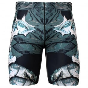 Btoperform Angel Knight Full Graphic Compression Shorts FY-317