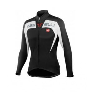 Castelli Contatto Jersey FZ cycling bicycle black