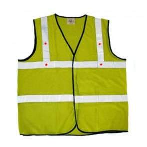 Cyclone Reflective Led Safety Vest