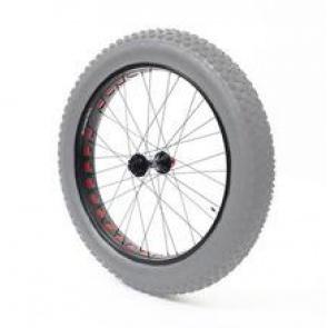 Anvil Square Rolls Complete Wheel Set Front 135mm QR Hub 100Rim Silver