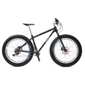 Anvil Fatgear Alpha XT M8000 2x11sp Fatbike Custom Full kit Black