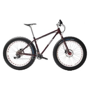 Anvil FatGear Alpha SLX 2x11sp Fatbike Custom Full kit Red