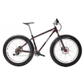 Anvil Fatgear Alpha SLX M7000 2x11 Fatbike Custom Full kit Red