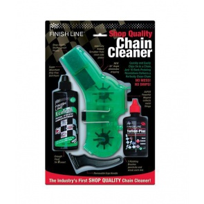 Finishline Bicycle Chain Cleaner Shop Quality Kit