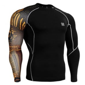Fixgear Compression BaseLayer Skin Tight Shirt CP-B27