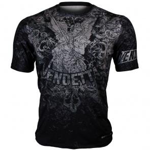 Btoperform Vendetta Black Full Graphic Loose-fit Crew neck T-Shirts FR-355K