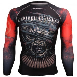 Btoperform Coup D'etat FX-108 Compression Top MMA Jersey Shirts