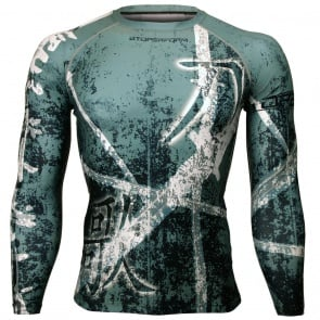 Btoperform A Song Of Sword FX-116G Compression Top MMA Jersey Shirts