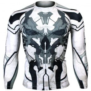 Btoperform Golden Army - Black Full Graphic Compression Long Sleeve Shirts FX-131K