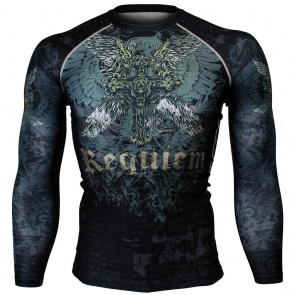 Btoperform Requiem Full Graphic Compression Long Sleeve Shirts FX-149