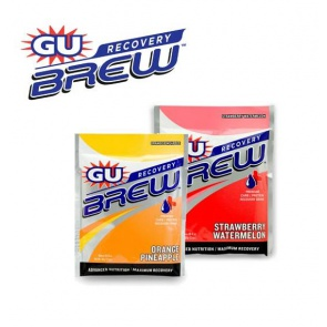 GU Recovery Brew Energy Powder Pack 60g