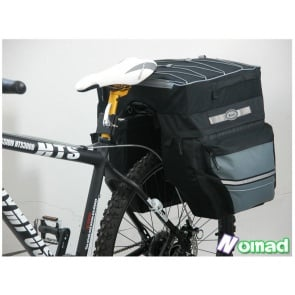 BICYCLE HERO PANNIERS BAGS MOUNTAIN BIKE ROAD CYCLING