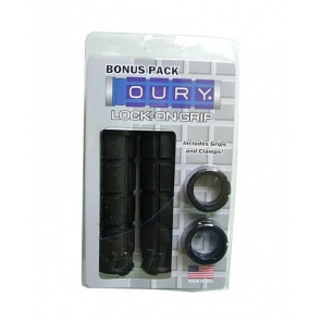 Oury Lock-on Grip Bonus Pack bicycle bike black