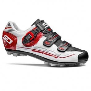 Sidi Eagle 7 MTB Cycling Shoes White Black Red