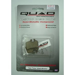 Quad Hayes HFX9 Disc Brake Shoes Pads QDP-15