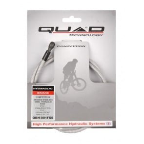 Quad Hydraulic Disc Brake Front Cable Stainless QBH-001FSS