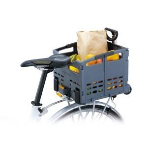 Topeak Trolley Tote Foldable Rear Rack Mount Basket