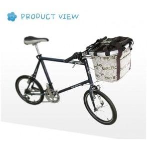 VLLU bicycle fashion bascket detachable folding