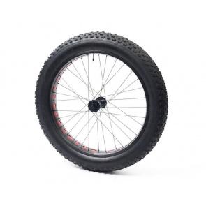 Anvil Square Rolls Complete Wheel Set Rear 135mm QR Hub 82Rim Black