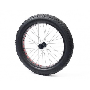 Anvil Square Rolls Complete Wheel Set Front 150mm TX Hub 82Rim Black