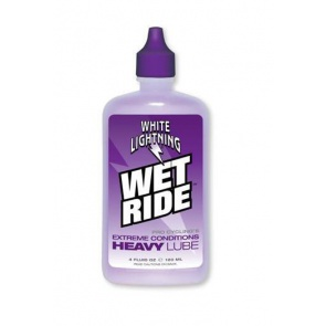 WhiteLightning Wet Ride Synthetic Lubricant 120ml
