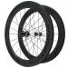 Knight Composites 65W-Dt Swiss 240s Carbon Clincher Wheelset- 700c Black