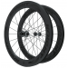 Knight Composites 65W-Dt Swiss 240s Carbon Clincher Front Wheelset- 700c Black