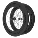 Knight Composites 95W-Dt Swiss 240s Carbon Clincher Rear Wheelset- 700c White