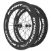 Knight Composites 95W-Dt Swiss 240s Carbon Clincher Front Wheelset- 700c white