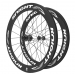 Knight Composites 65W-Dt Swiss 240s Carbon Clincher Rear Wheelset- 700c white