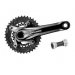 Shimano Fc-m615 Deore 175 38/24t 10-speed Bb Black Crankset