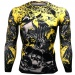 Btoperform Raven Skull FX-125 Compression Top MMA Jersey Shirts