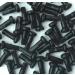 Wheel Smith Alloy Black Nipple 2.0x12mm 50pcs