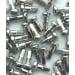 Wheel Smith Alloy Silver Nipple 2.0x12mm 50pcs