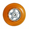 Curb Dog Scooter Wheel Orange W-Bearings
