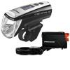 Trelock LS 950 CONTROL ION + LS 720 REEGO LED Light Set - Black