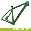 "Quantec MTB HTL 29"" Light Frame Yellow Green"