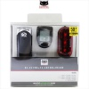 Cateye HL-EL135N TL-LD130 Velo5  Bicycle Light Computer Set