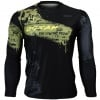 Btoperform Oorah Full Graphic Loose-fit Long Sleeve Crew neck Shirts FR-161