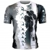 Btoperform Assassin Full Graphic Loose-fit Crew neck T-Shirts FR-350