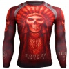 Btoperform Mohawk Spirit FX-102R Compression Top MMA Jersey Shirts